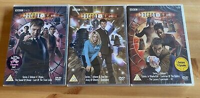 £1.50 • Buy Doctor Who Dvd X3 New And Sealed
