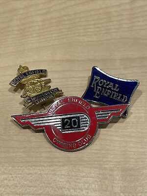 £8.50 • Buy Royal Enfield Motorcycle Pin Badges Outlaw Biker Ace Cafe Racer