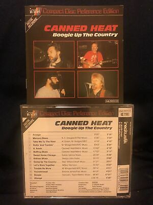 £1.46 • Buy CANNED HEAT CD - Boogie Up The Country LIVE 1987 - BLUES-ROCK