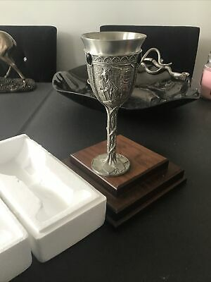 £46.99 • Buy ROYAL SELANGOR Lord Of The Rings  ARAGON Goblet Pewter BOXED GRAEME ANTHONY