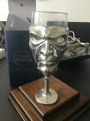 £46.99 • Buy ROYAL SELANGOR Lord Of The Rings Wine Glass - SAURON  Goblet Pewter