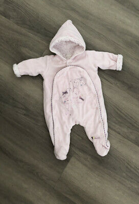 £1.50 • Buy Baby Girl Mamas And Papas Pram Suit, All In One 0-3 Months
