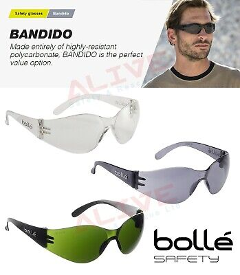 £8.99 • Buy Bolle Safety Glasses BANDIDO Anti-fog & Anti-scratch UV Protection Spectacles