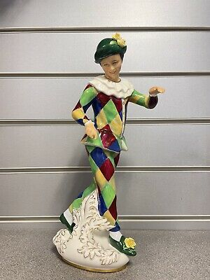 £51 • Buy Royal Doulton Harlequin Figurine H.N 2737 - Excellent Condition
