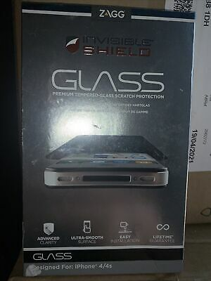£4.99 • Buy Iphone 4/4s Screen Protector Zagg Invisible Shield