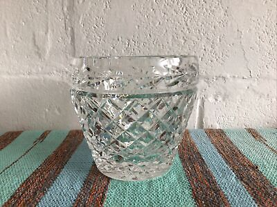 £25 • Buy Waterford Crystal Cache Pot - Vintage