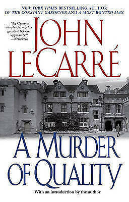£18.57 • Buy A Murder Of Quality Le Carre, John Very Good Book