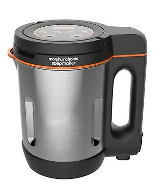 £0.99 • Buy Morphy Richards 501021 Compact Soup Maker Blender Stainless Steel 1 Litre 1000W