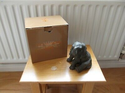 £9.99 • Buy Leonardo Baby Elephant From 'Out Of Africa' Collection  - Box & Tag (made 2017)