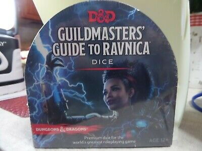 AU31.04 • Buy D&D 5th Edition RPG: Guildmasters' Guide To Ravnica DICE Set Brand New Sealed