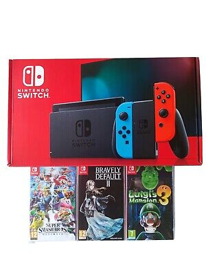 AU533.42 • Buy Console Nintendo Switch V2 Pack Complet