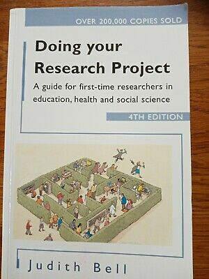 £4.08 • Buy Doing Your Research Project By Judith Bell. 4th Edition. Used Paperback