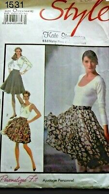 £1.90 • Buy STYLE 1531 - Ladies Full Skirt Sewing Pattern - Size 12-16