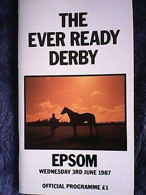 £12.50 • Buy Reference Point 1987 Derby Stakes - Epsom Racecard - Rare Item