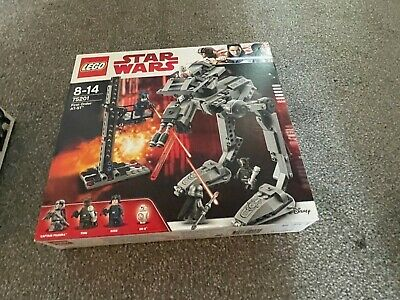 £60 • Buy Lego Star Wars First Order AT-ST 75201