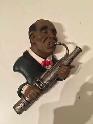 £60 • Buy Jazz Musician Ornament - Wall Hanging Saxophone Player