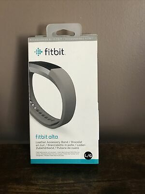 AU9.32 • Buy **NEW SEALED** Fitbit Alta Leather Band (Large)