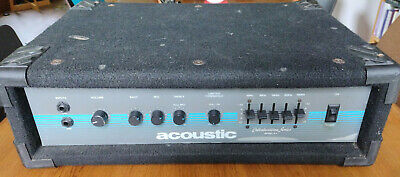 £107.21 • Buy Acoustic B-1 Collaboration Series Vintage Bass Guitar Amp Head