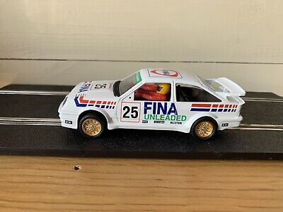 """£9.99 • Buy Scalextric Ford Sierra Cosworth,No 25, """"Fina"""",C.423,Quite Rare"""