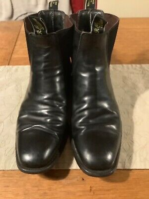 £56 • Buy RM Williams Black Boots Size 10.5H, Comfort Craftsman Yearling