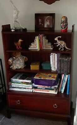 £10 • Buy Stag Minstrel Mahogany Bookcase With Drawer