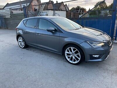 £1075 • Buy SEAT LEON FR TECHNOLOGY 2.0 Tdi DAMAGED SALVAGE REPAIRABLE LOW MILES 48K