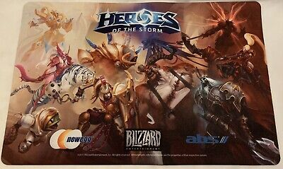 """AU33.37 • Buy Blizzard Heroes Of The Storm Large 11""""x17"""" Mouse Pad Warcraft Diablo Overwatch"""