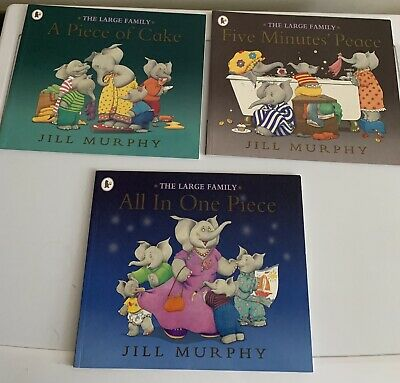 £2 • Buy 3 Set Of Books By Jill Murphy The Large Family *will Accept Offers*