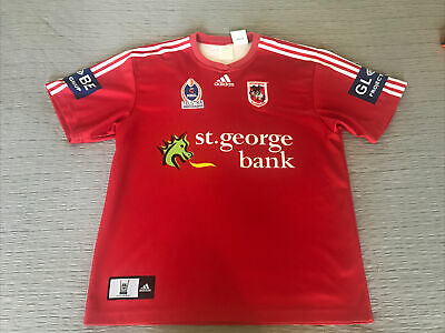 AU125 • Buy NRL ST GEORGE DRAGONS - X-LARGE - ADIDAS - Rugby League Jersey