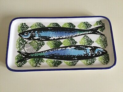 £10 • Buy Portugal Gifts Hand Painted Ceramic Fish Platter