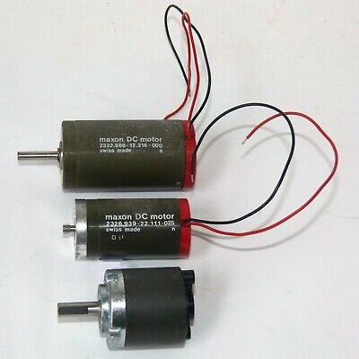 £25 • Buy Two Maxon DC Motors And Gearbox