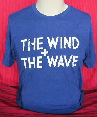 £8.94 • Buy The Wind + The Wave - Blue - Large T-Shirt - NEW