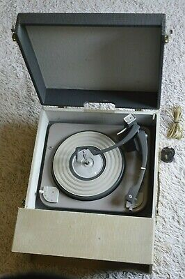 £130 • Buy Fidelity Portable Record Player Vintage 1950/60's
