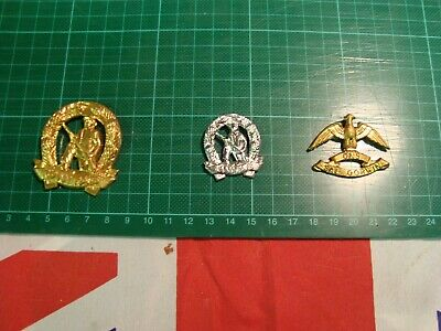 £15 • Buy Vintage South African Army Unitas Infantry Wes Rand Beret & Collar Badges