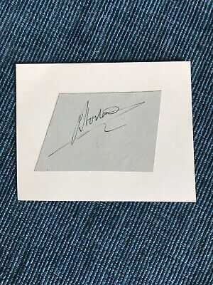£1.99 • Buy Joe Horton Autograph - Worcestershire Cricketer 1934-38 (62 Matches Only)