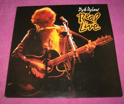 £10 • Buy Bob Dylan - Real Live - Cbs Uk 1984 Archive Mint Original Sleeve & Disc Are Mint