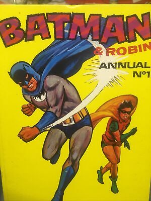£3.99 • Buy BATMAN And ROBIN ANNUAL NO. 1 Brown Watson Ltd, 1972 Good Condition For Age