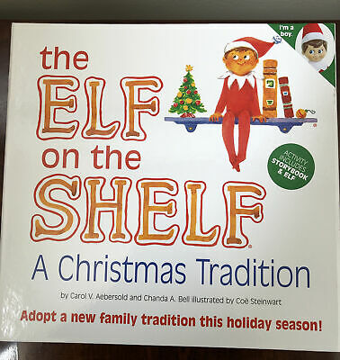 """AU26.91 • Buy The Elf On The Shelf """" A Christmas Tradition """" With Hardcover Book Blue Eyed Boy"""