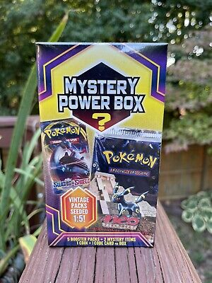$150 • Buy Pokemon Mystery Power Box 5 Booster Packs Vintage Pack 1:5 Factory Sealed D9 NEO