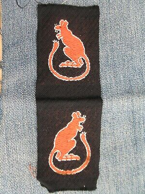£44.99 • Buy 100% Original WW2 British Army Formation Patches 7th Armoured Div 'Desert Rats'