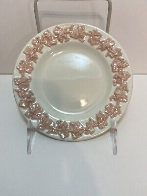 £7.32 • Buy EXCELLENT Wedgwood Embossed Queensware Pink Cream Bread Butter Plate Dish  #A5