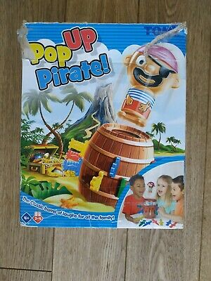 £0.99 • Buy Used Tomy Pop Up Pirate - PICK UP ONLY