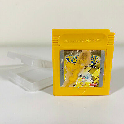 $42.95 • Buy Pokemon Yellow (Nintendo GameBoy Color) Authentic, New Battery, TESTED And SAVES