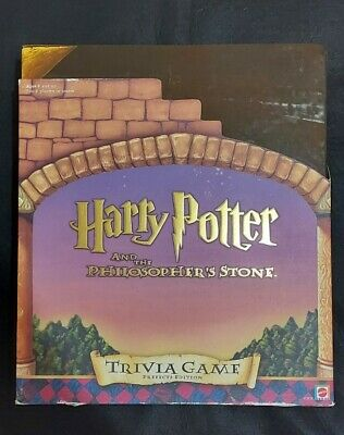 £5.90 • Buy Harry Potter And The Philosopher's Stone Trivia Board Game Prefects Edition