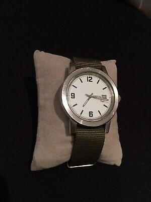 £35 • Buy Titus Sector White Face Stainless Steel Case 2000's Vintage Wristwatch Date