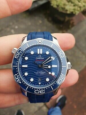 £3350 • Buy 2019 OMEGA Seamaster Diver 300M 42mm Co-Axial  Blue  Watch - 210.32.42.20.03.001