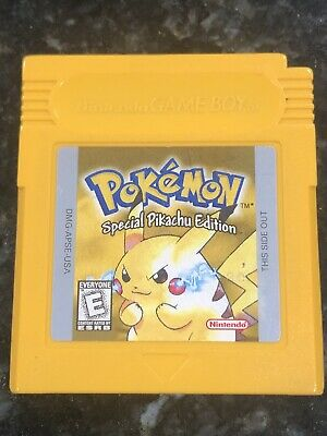 $26 • Buy Pokemon Yellow Version Special Pikachu Edition (Game Boy, 1999) Authentic Tested