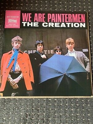 £10.99 • Buy The Creation – We Are Paintermen REISSUE LP Near Mint! Psychedelic / MOD