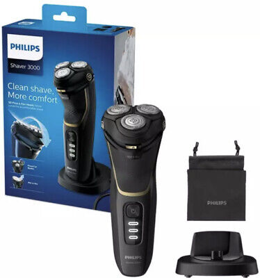 £44.99 • Buy Philips Series 3000 Wet And Dry Electric Shaver - Black