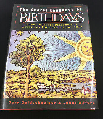 £16.08 • Buy The Secret Language Of Birthdays Your Complete Personology Guide For Each Day